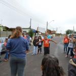 Crianças da Catequese e Jovens de nossa comunidade visitaram o NUTRAS