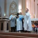 Catedral sorteou duas cestas preparadas pela Turminha da Esperança e Catequese, para as mães
