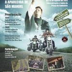 17ª Moto Romaria acontecerá no domingo (16), em Aparecida de São Manuel