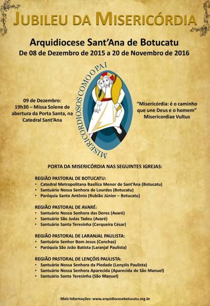 Cartaz Ano da Misericórdia