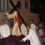 Procissão do Encontro: Momento forte de reflexão aconteceu na noite do Domingo de Ramos (20)