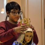 Coroação da imagem de Nossa Senhora marcou a abertura do mês de Maio