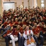 67 jovens foram crismados por Dom Maurício no último sábado (28)