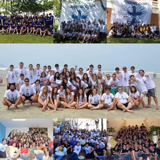 Jovens Com Cristo comemora 8 anos