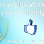 Página da Catedral no Facebook atinge 3 mil curtidas
