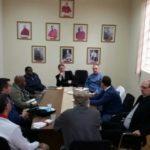 Membros do Conselho de Presbíteros e Colégio de Consultores se reuniram com o Arcebispo