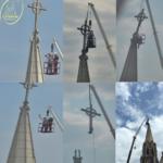 Esclarecimento: Retirada da Cruz da Torre da Catedral