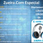 #WebRádio: Zueira.Com reprisa algumas das principais entrevistas nesta semana