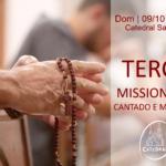 Terço Missionário será realizado no domingo (09), às 9h