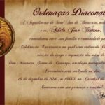Seminarista Athila será ordenado diácono em dezembro