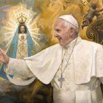 Papa Francisco recebe este belo presente do Vaticano por seus 80 anos