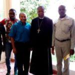 Missão: Pe. Emerson se encontrou com Dom Filomeno, Arcebispo de Luanda na Angola