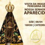 Catedral se prepara para receber imagem peregrina de Nossa Senhora Aparecida