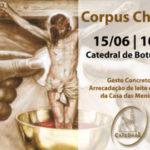 Corpus Christi: Missa será às 10h na Catedral
