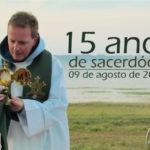 Pe. Emerson comemora 15 anos de sacerdócio