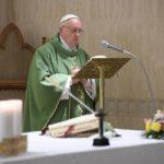 Papa: remorsos da consciência são sintomas de salvação