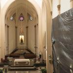 Iniciada a reforma interna e da cúpula da Catedral