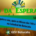 """No próximo sábado (28), tem """"Pão da Esperança"""", do GEV Botucatu"""