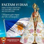 Arquidiocese de Palmas realiza seu primeiro Círio de Nazaré