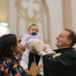 Batismo: Três crianças receberam o sacramento em outubro