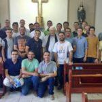 Seminaristas da Arquidiocese participaram de momento de confraternização e convivência