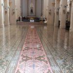 Piso de nossa Catedral passa por restauração