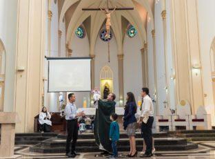 Batismos celebrados em nossa Catedral