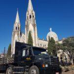 Iniciada a montagem da estrutura da Festa de Sant'Ana