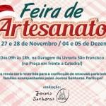 Feira de Artesanato das Jovens Senhoras acontece hoje (28), e na próxima sexta e sábado, participe!