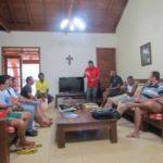 Seminaristas visitam a Fazenda da Esperança de Piraju