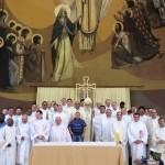 """Clero de Botucatu se reuniu para celebrar """"Dia do Padre"""" e 15 anos de Episcopado de Dom Maurício"""