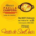 Amanhã (30): Paella Campeira será servida a partir das 11h30