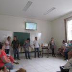 Curso de Batismo aconteceu no sábado (14) e Batismo ocorreu no domingo (15)