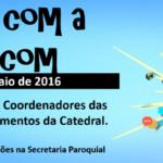 Café com a Pascom irá reunir as lideranças da comunidade Catedral