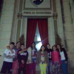 Crianças da Catequese passam pela Porta da Misericórdia