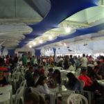 ABR3 agitou o grande público presente na segunda noite da Festa de Sant'Ana, Paella Campeira foi destaque