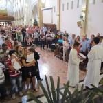 11 crianças foram batizadas no domingo (30)