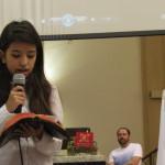 Mês da Bíblia: Crianças da Turminha da Esperança apresentaram teatro bíblico