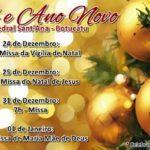 Celebrações de Natal e Ano Novo na Catedral