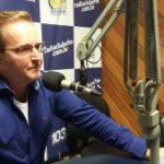 Pe. Emerson divulgou a Festa de Sant'Ana nas rádios de Botucatu