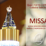 12 de Outubro: Catedral celebrará a Padroeira do Brasil com Missa às 07h