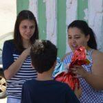 Missão de Natal foi realizada pelos jovens da Jovens.Com Cristo
