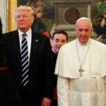 """Após ver Papa, Trump diz estar """"determinado"""" a lutar pela paz"""