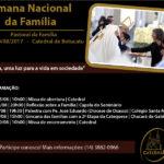 Semana Nacional da Família será de 13 a 20 de agosto