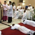 Seminaristas Bruno, Edenilson e Rafael foram ordenados diáconos