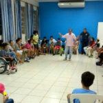 Acampamento com as crianças da 2ª etapa em preparação para a Eucaristia