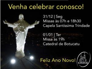 Celebrações de Fim de Ano e Ano Novo na Catedral