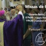 Celebre a Quarta-feira de Cinzas na Catedral