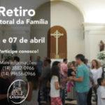 Retiro para Famílias será realizado em abril