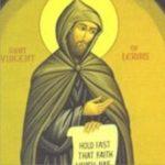 São Vicente de Lérins, um grande pensador, teólogo e místico